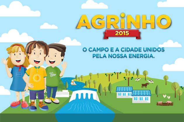 Banner dos finalistas do Agrinho 2015